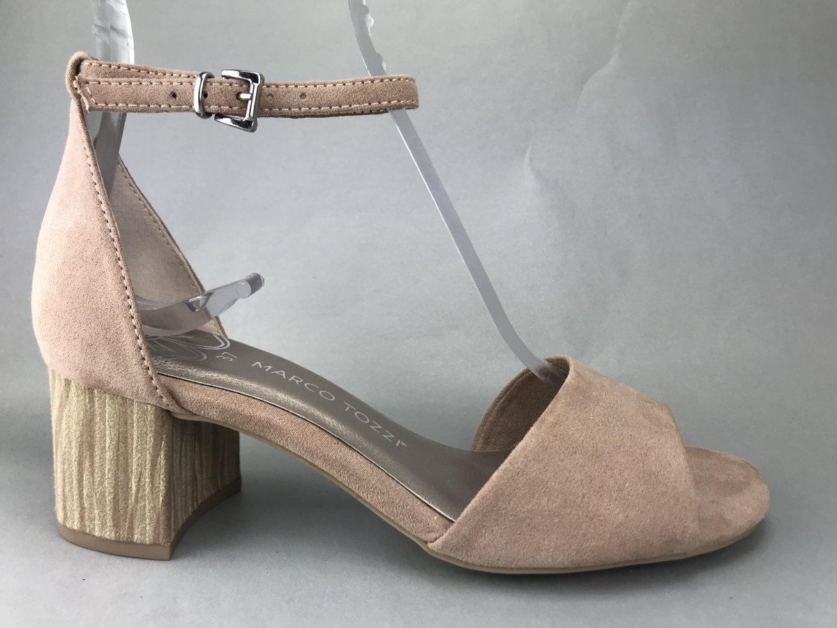 Wonders blød sandal m. hæl, sort - Dame - Askepot sko