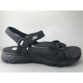 1425af69924f SKECHERS sandal - sort m. sort sål