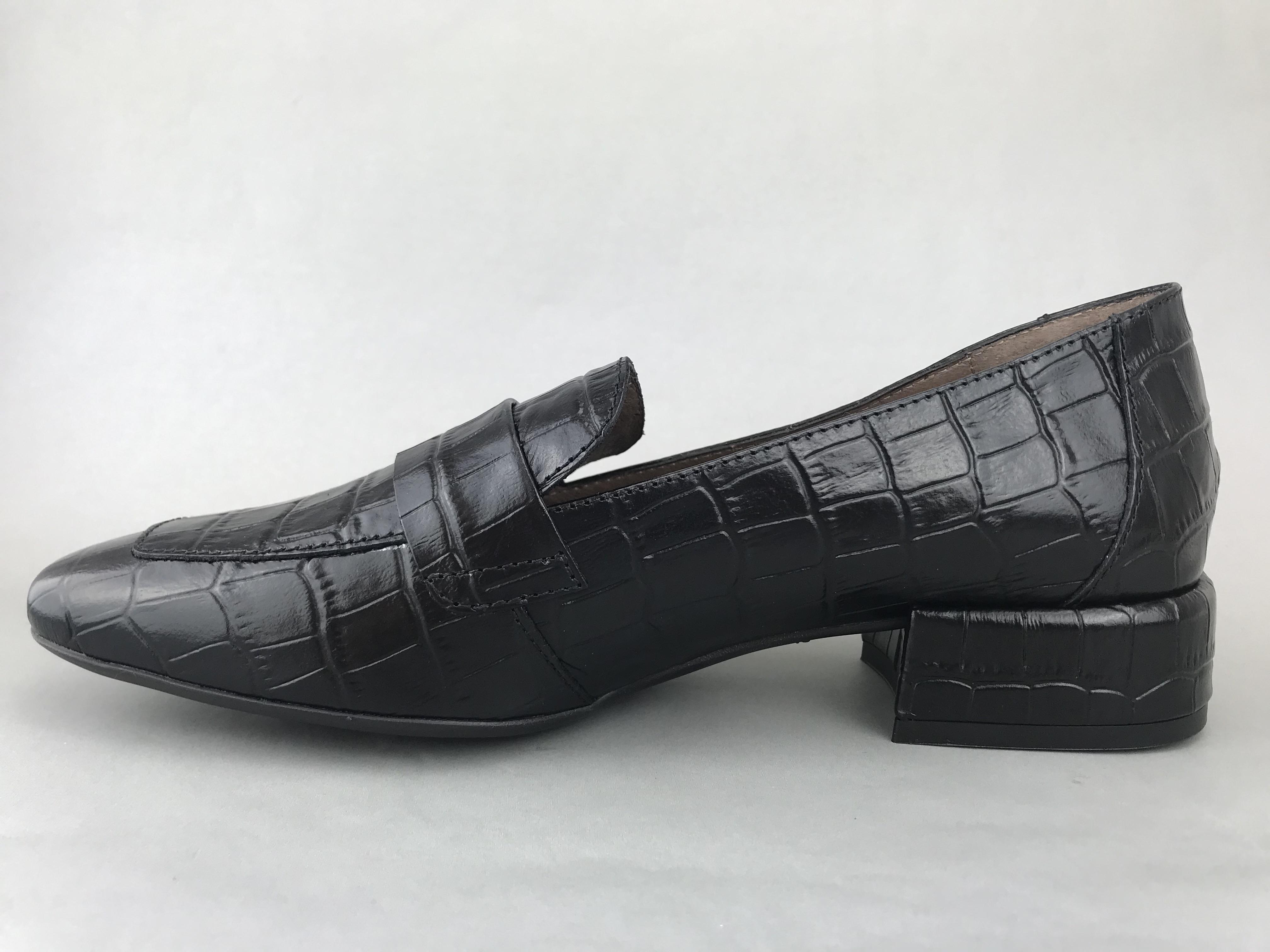 Wonders sandal m. hæl - sort - DAME - zjoos-hjoerring.dk