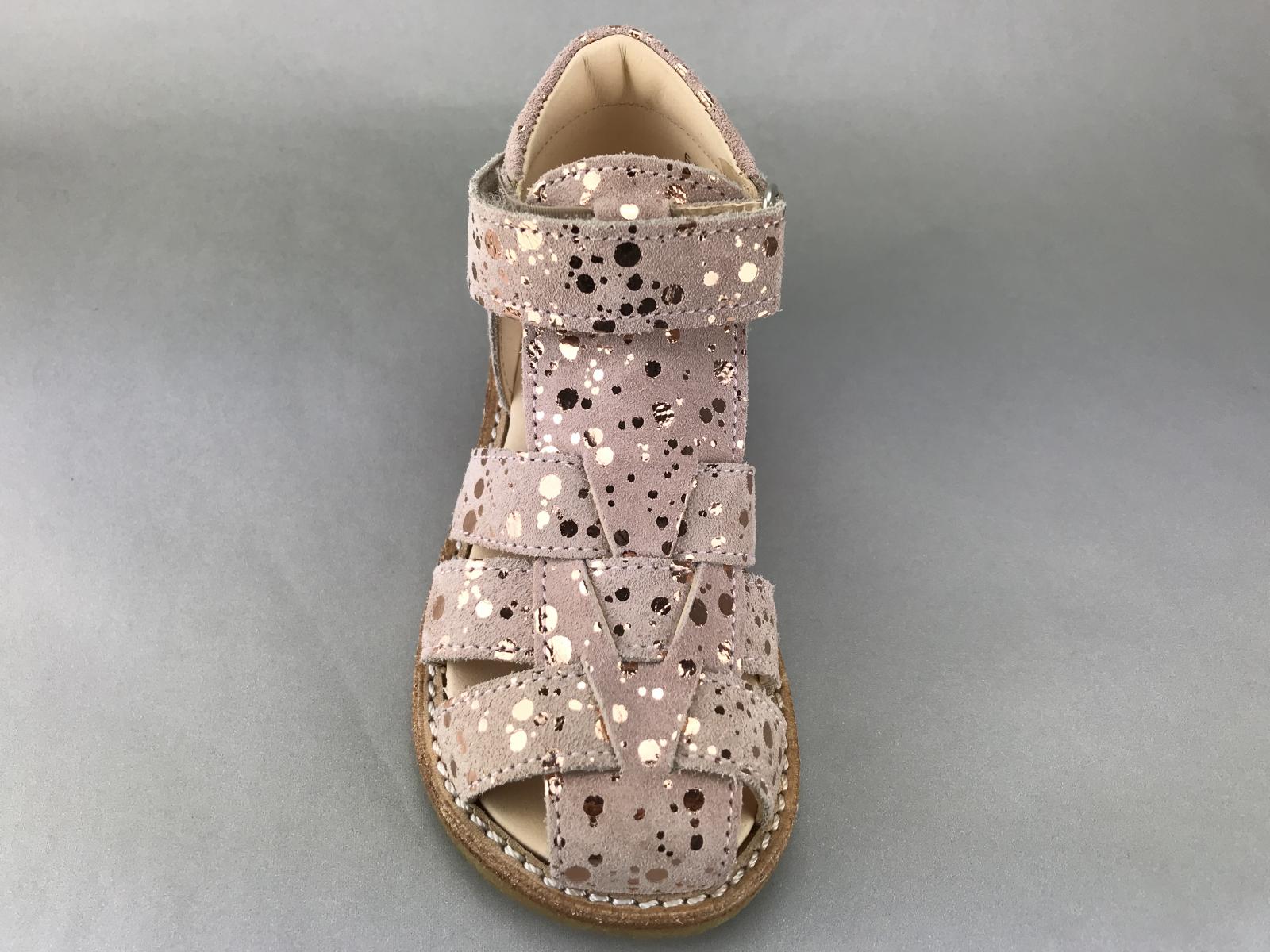 466e3a8e15f1 Angulus pige sandal - rosa m. prikker - BØRN - zjoos-hjoerring.dk