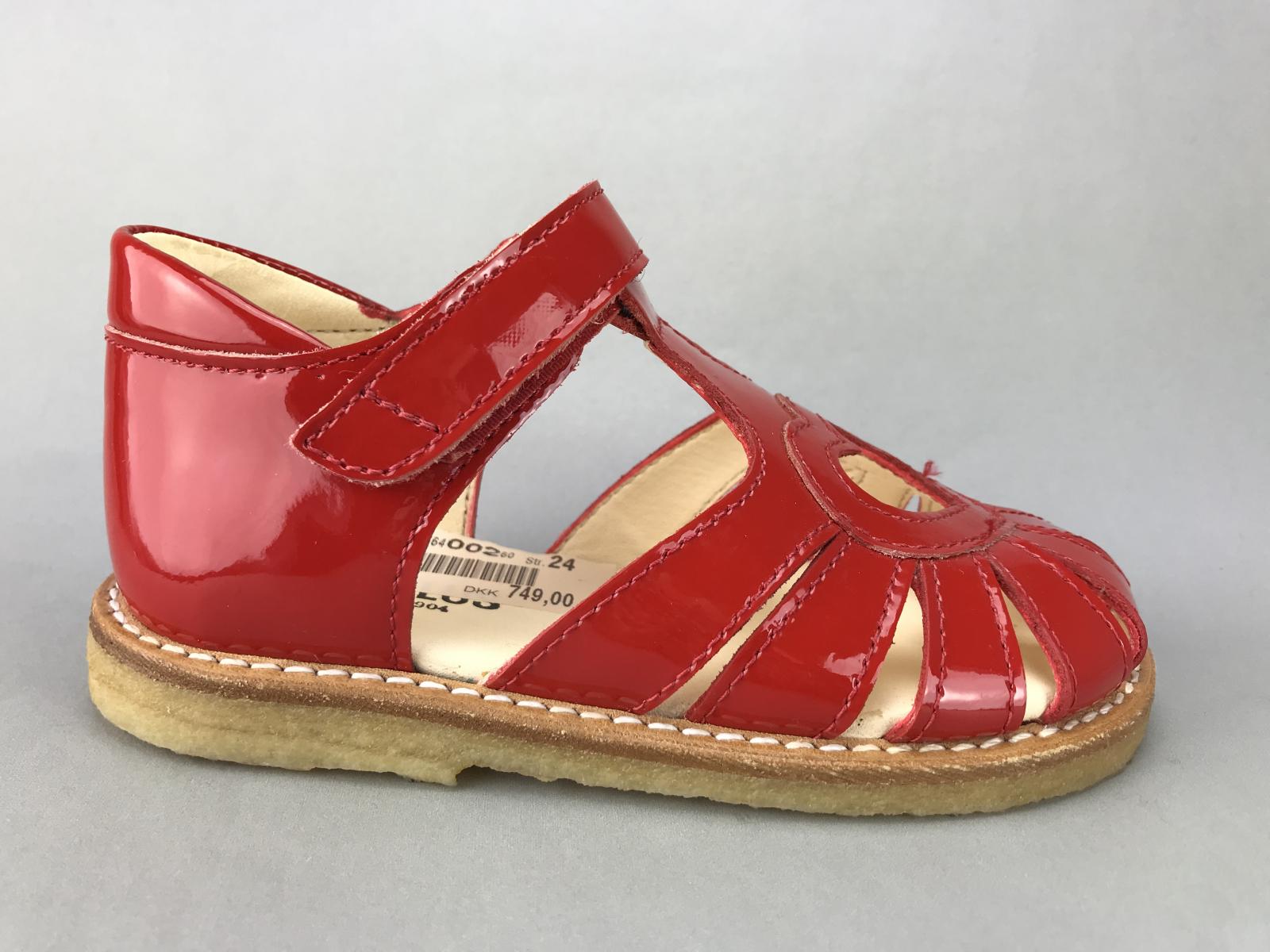 4fe04925a31d Angulus pige sandal - rød lak - BØRN - zjoos-hjoerring.dk