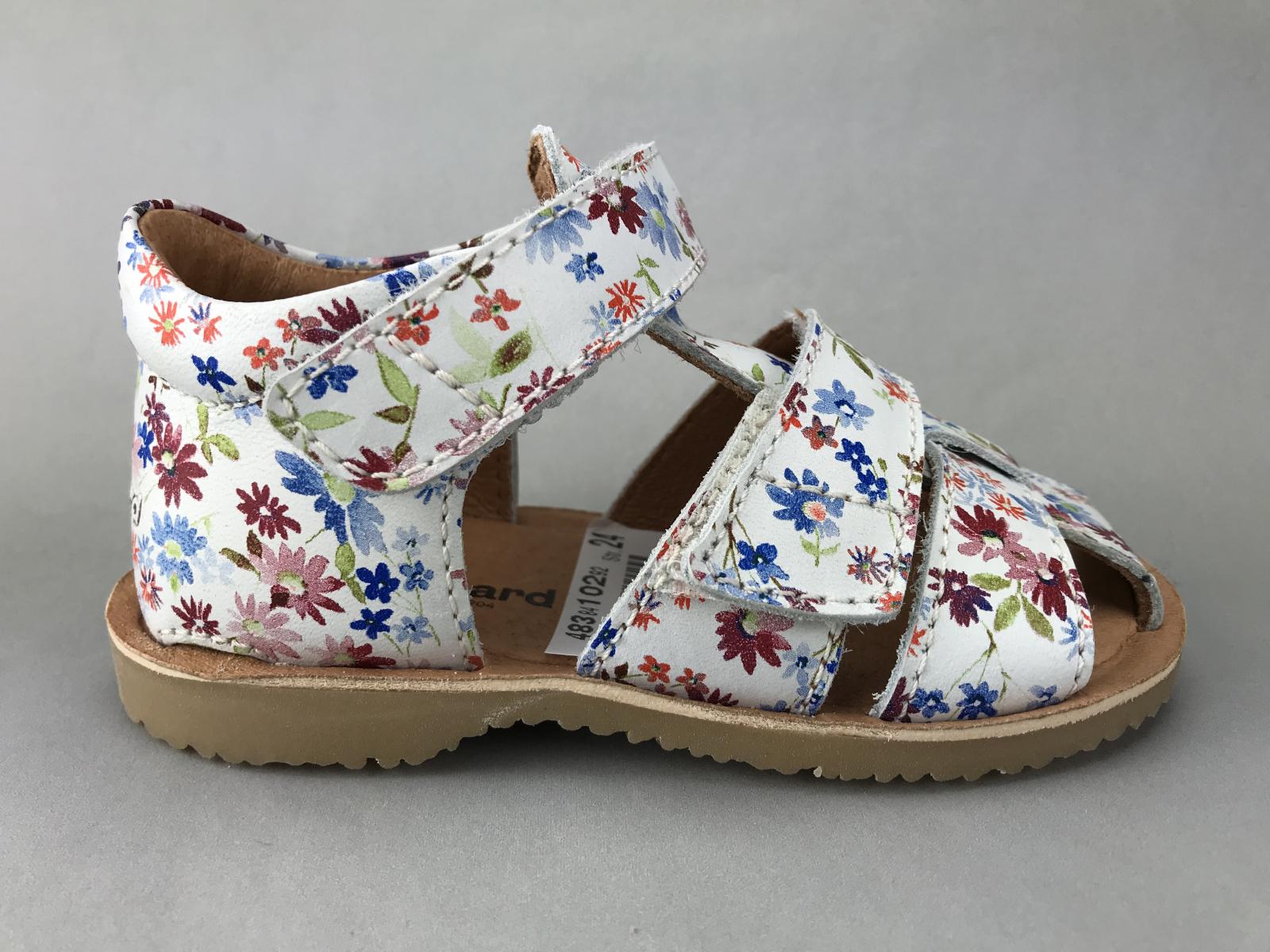 9ff07519ba17 Bundgaard pige sandal - hvid m. blomster - BØRN - zjoos-hjoerring.dk