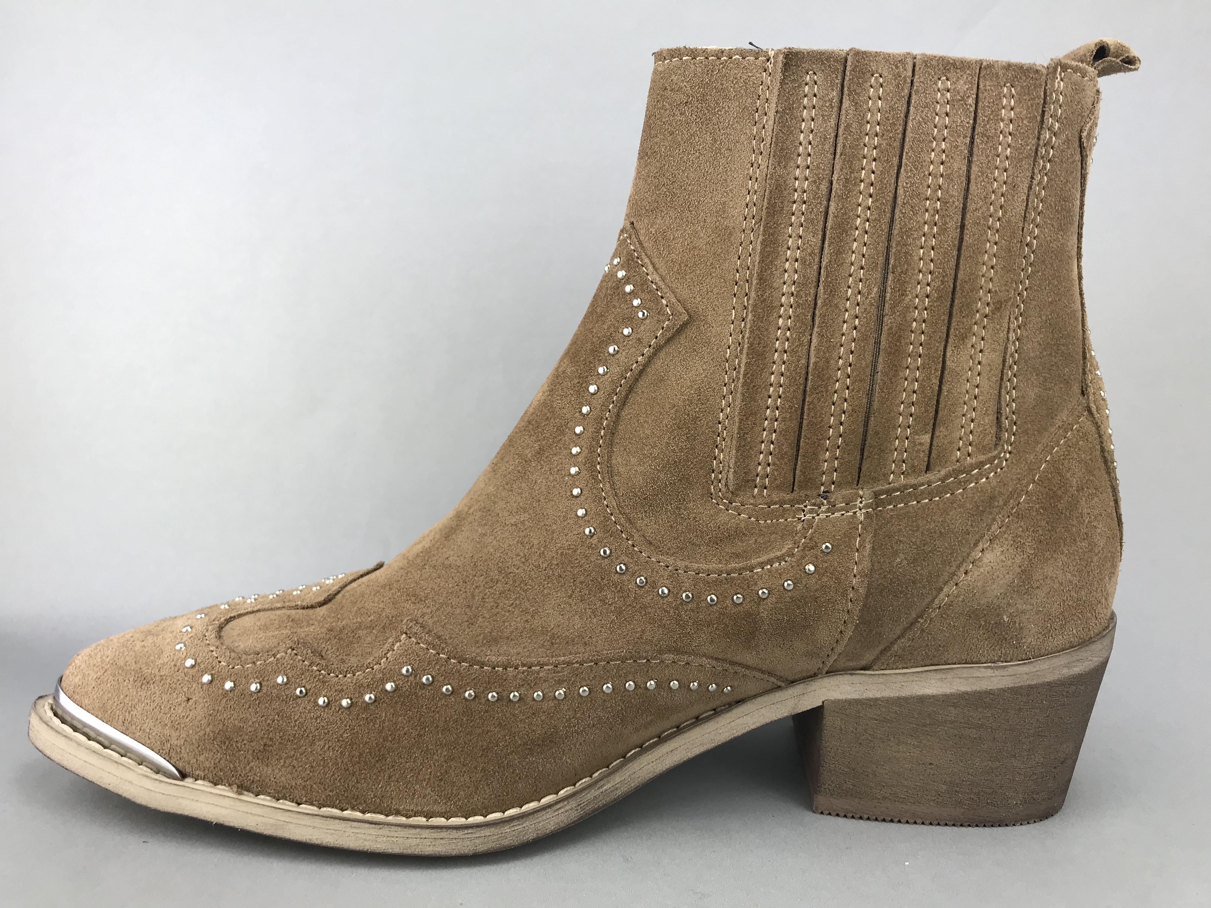Pavement western støvle sandfarvet RUTH