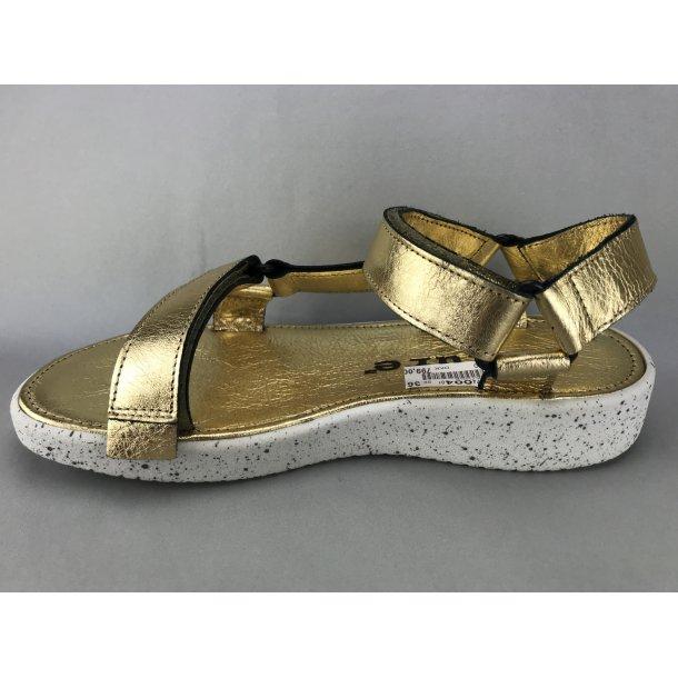 abddd5dd2bd Nature sandal - guld - DAME - zjoos-hjoerring.dk