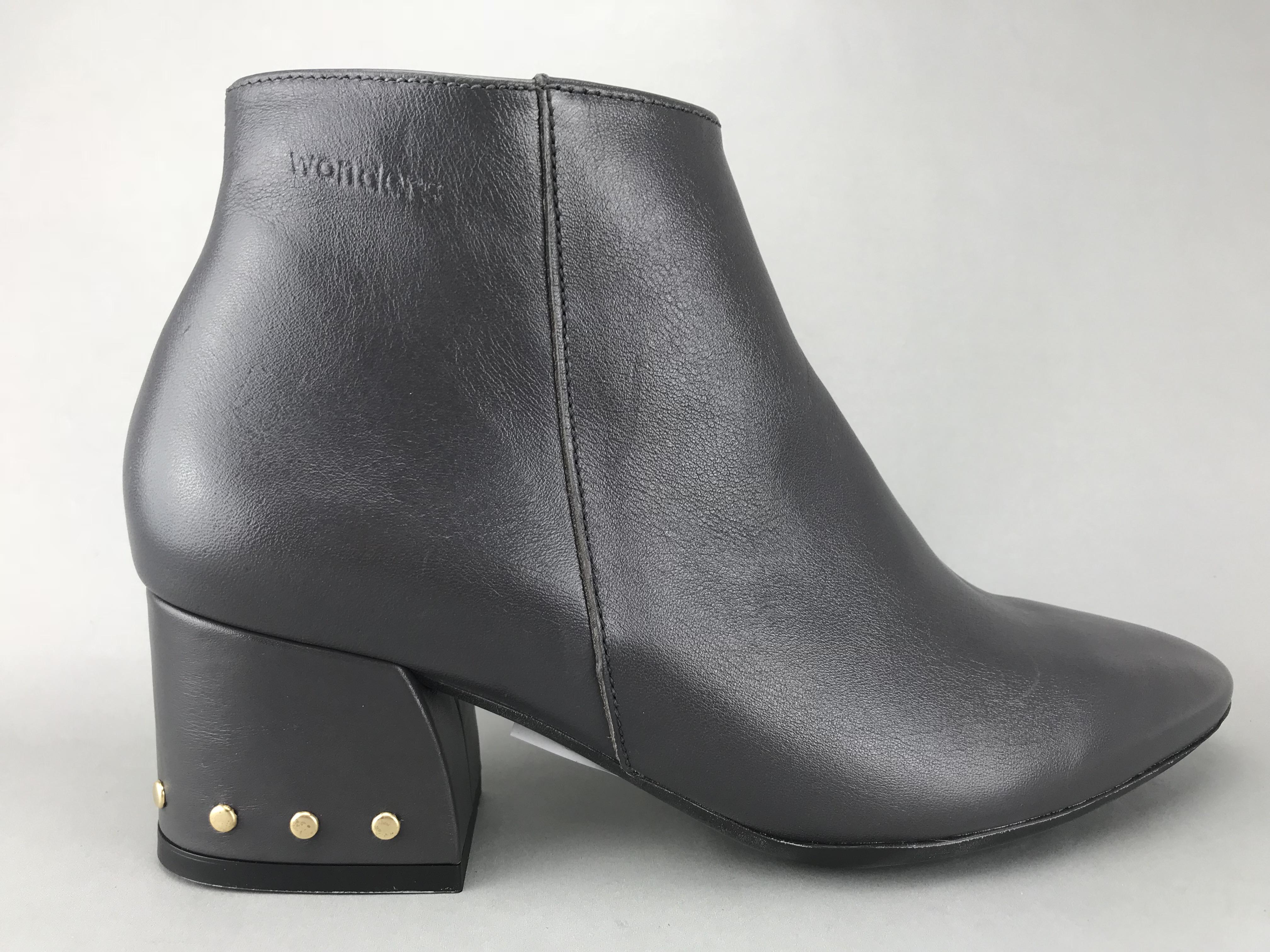 8e7b61b2b77 Wonders støvle m. nitter - grå - DAME - zjoos-hjoerring.dk