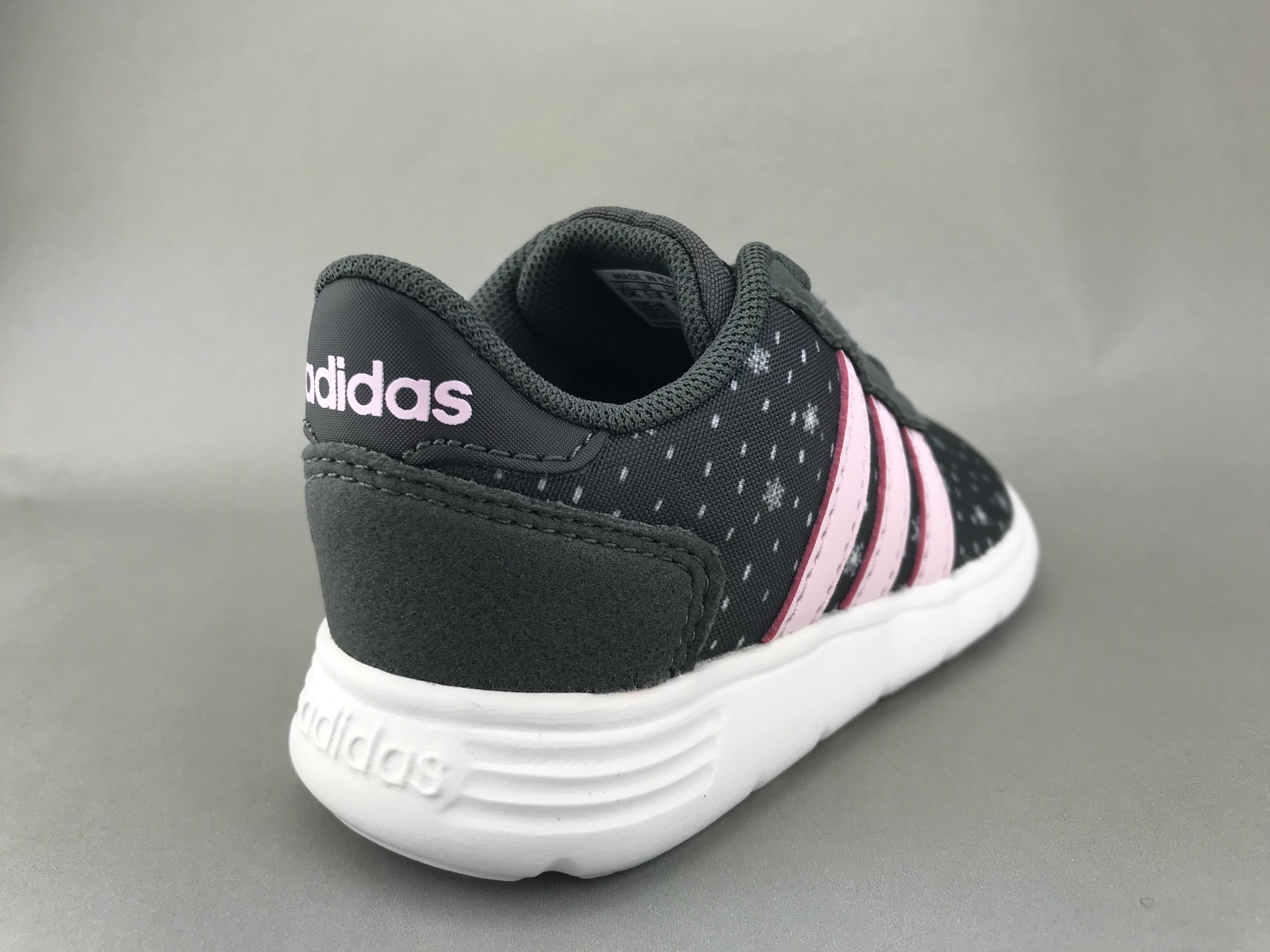 Adidas pige sneakers stjerner m. lyserøde detaljer BØRN