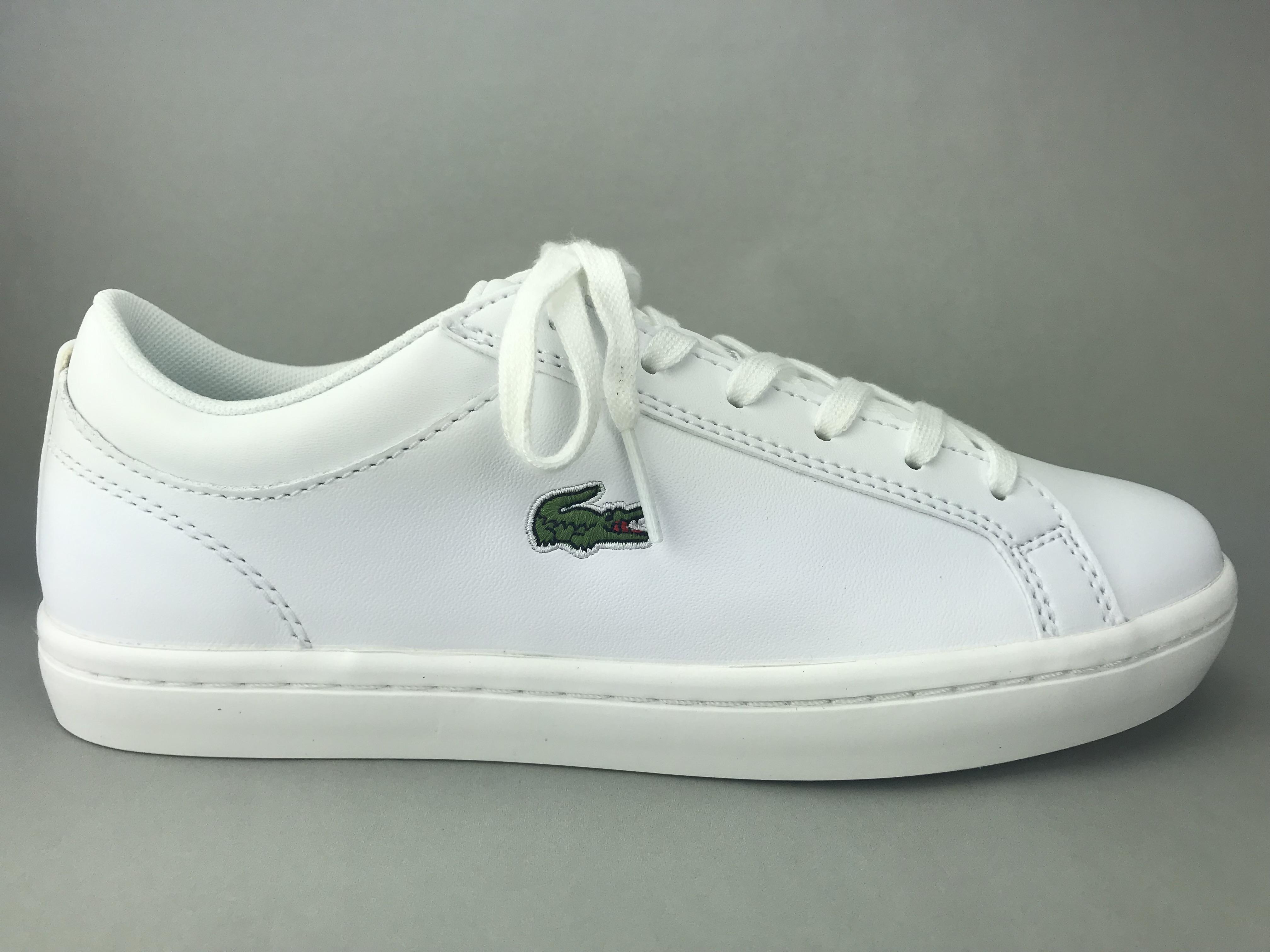 hvide lacoste sneakers