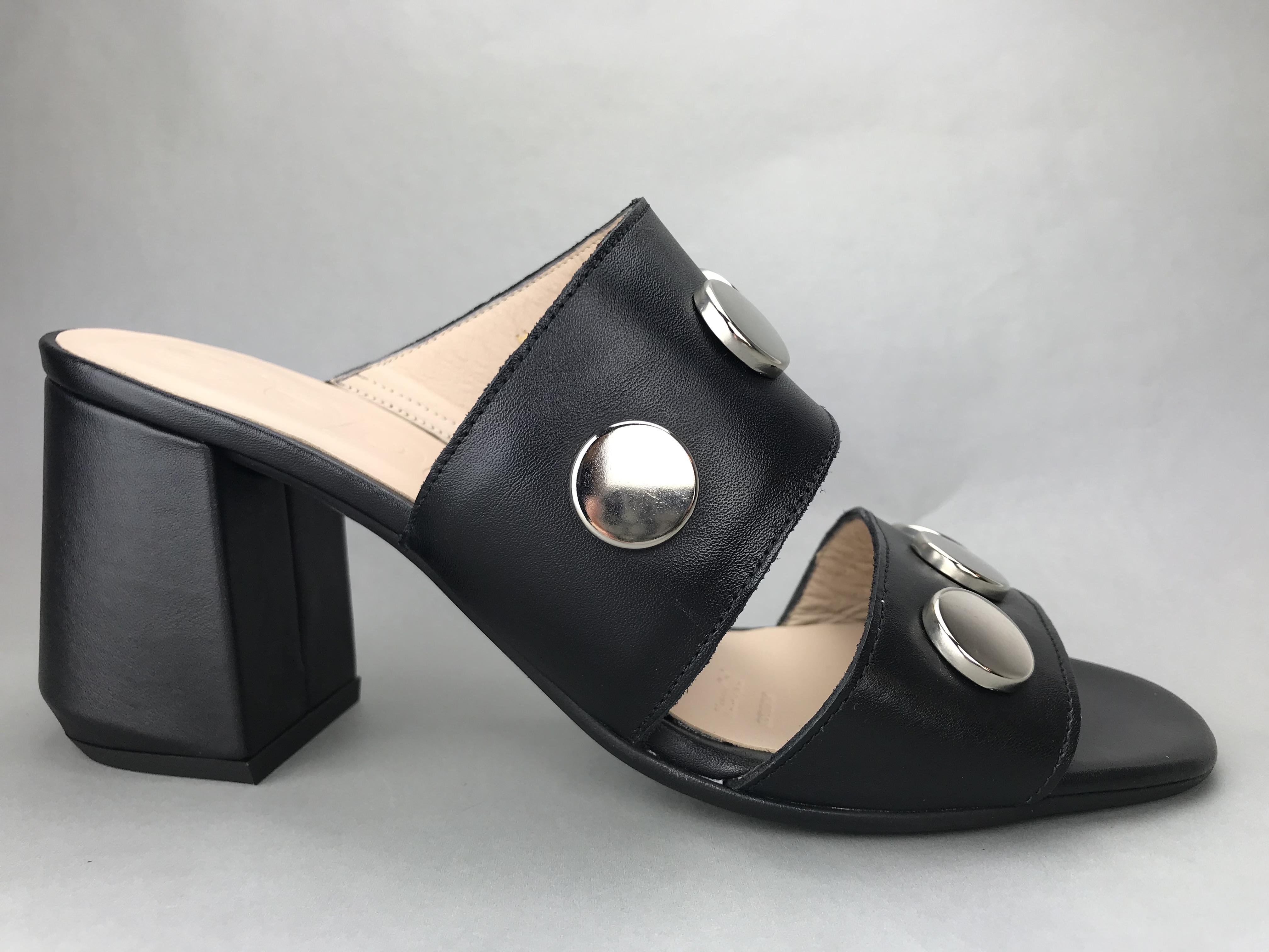 d2125abfedb Wonders slippers m. hæl og nitter - sort - DAME - zjoos-hjoerring.dk