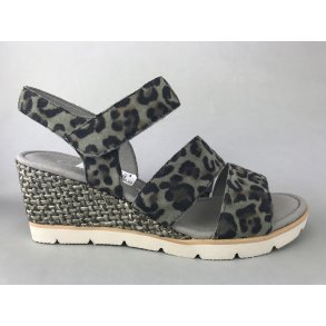 25eeb0f9bcdf Gabor kile sandal - grøn leopard