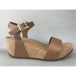 ce279684960 Copenhagen Shoes kork sandal m. remme - brun