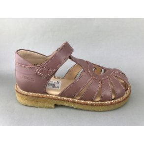 7c3d824fe6ef Angulus børne sandal - mørk rosa 5186-101