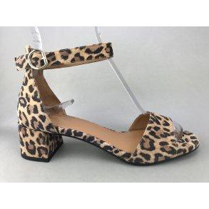 d7d20f29ba7 Billi Bi sandal m. hæl - leopard 6634