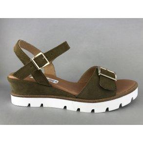 5571cd655f49 LBDK sandal m. kile - grøn