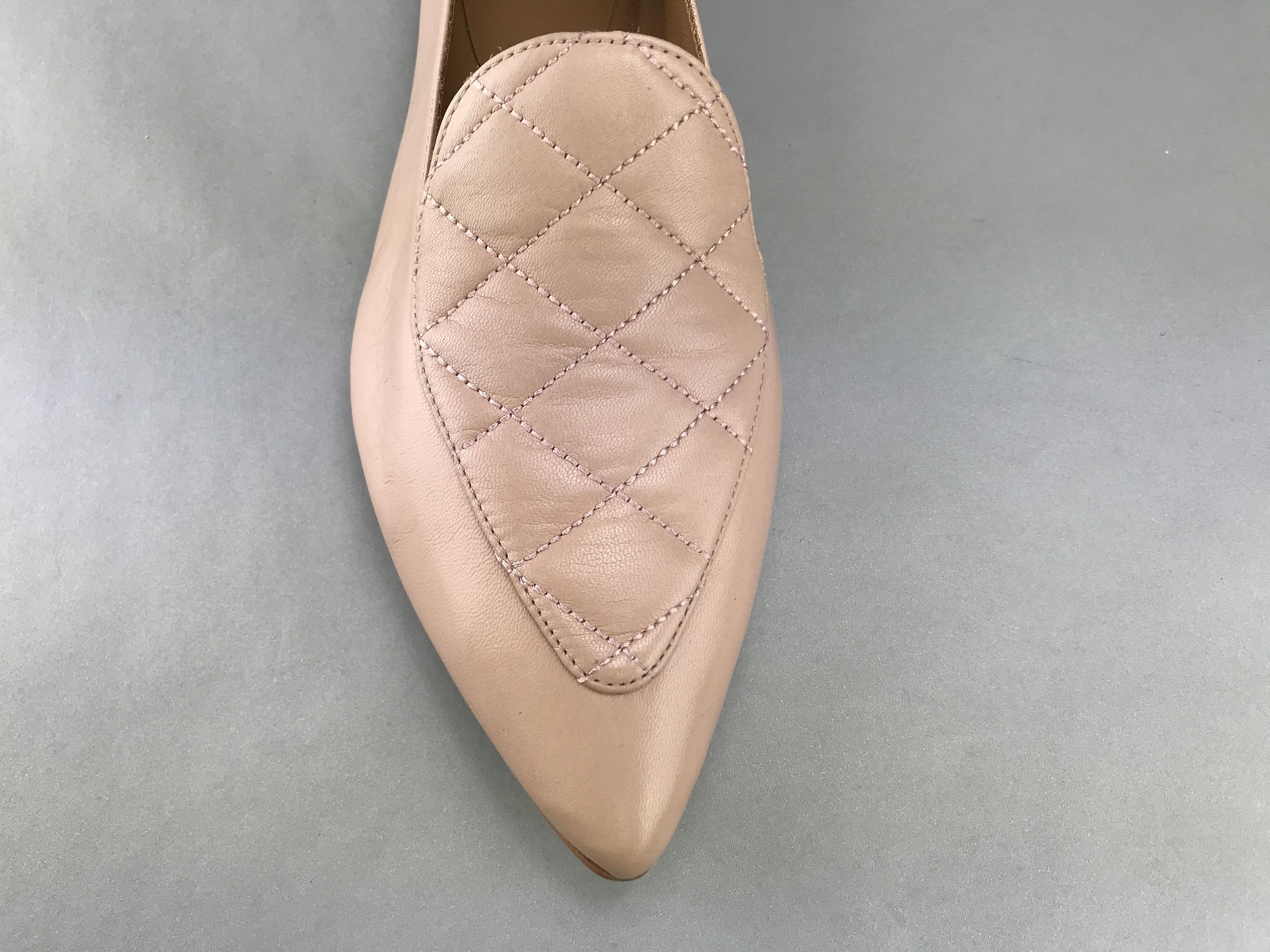 Billi Bi loafer m. kviltet tern rosa 4504